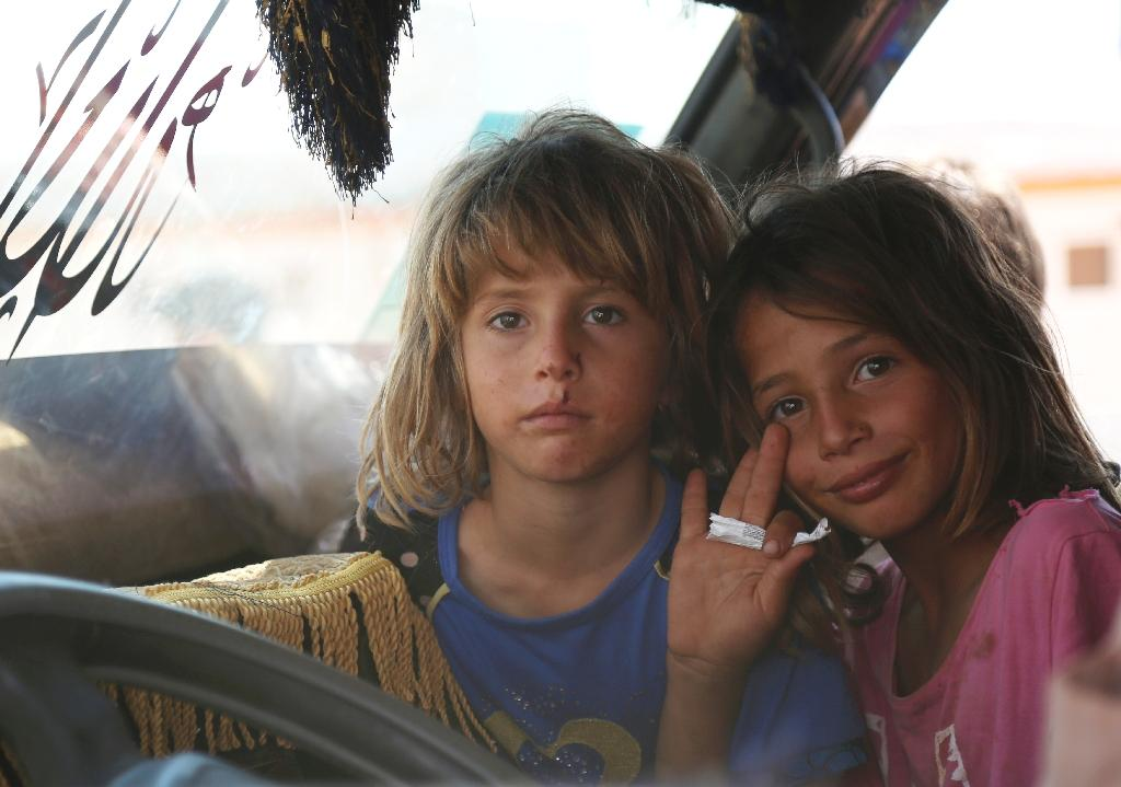 Violence in northwest Syria has displaced more than 38,500 people in less than two weeks amid increasing hostilities and a looming regime assault on the opposition-held Idlib province, the UN said Thursday.  The UN, which has warned a full-fledged assault on Idlib could create the century's 'worst humanitarian catastrophe', has created a plan to help up to 900,000 people who could flee the onslaught.  During the first 12 days of September, 'available information indicates that a sharp increase in hostilities and fears of further escalation has led to the displacement of over 38,500 people,' the UN humanitarian agency (OCHA) said.