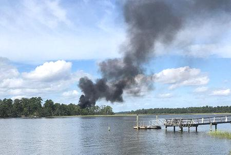 The pilot, the only person aboard the craft, ejected safely and was being checked for injuries, said a Pentagon spokesman, adding that there were no other injuries.  It was a Lockheed Martin F-35B, a short take-off/vertical landing version of the F-35, said a U.S. military official, speaking on condition of anonymity.  It was the first crash of an F-35 fighter jet since they became operational in 2006, said another military official, also speaking on the condition of anonymity.