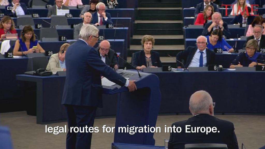 The European Union will deploy 10,000 armed border guards to tackle unlawful migration by 2020, the European Commission President Jean-Claude Juncker announced in a speech on Wednesday.