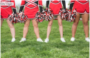 A cheering coach lost her job after allegedly tripping a cheerleader. Video shows the cheerleader backflipping and Teresa Fann sticking a leg out to stop her.