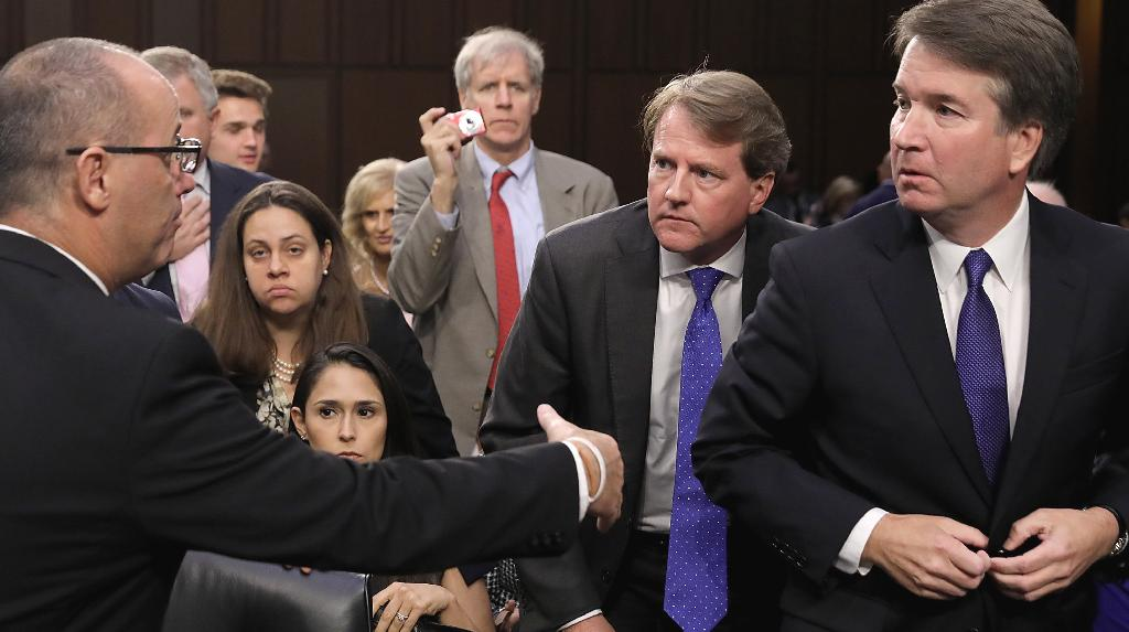 Supreme Court nominee Brett Kavanaugh said Wednesday he did not recognize the