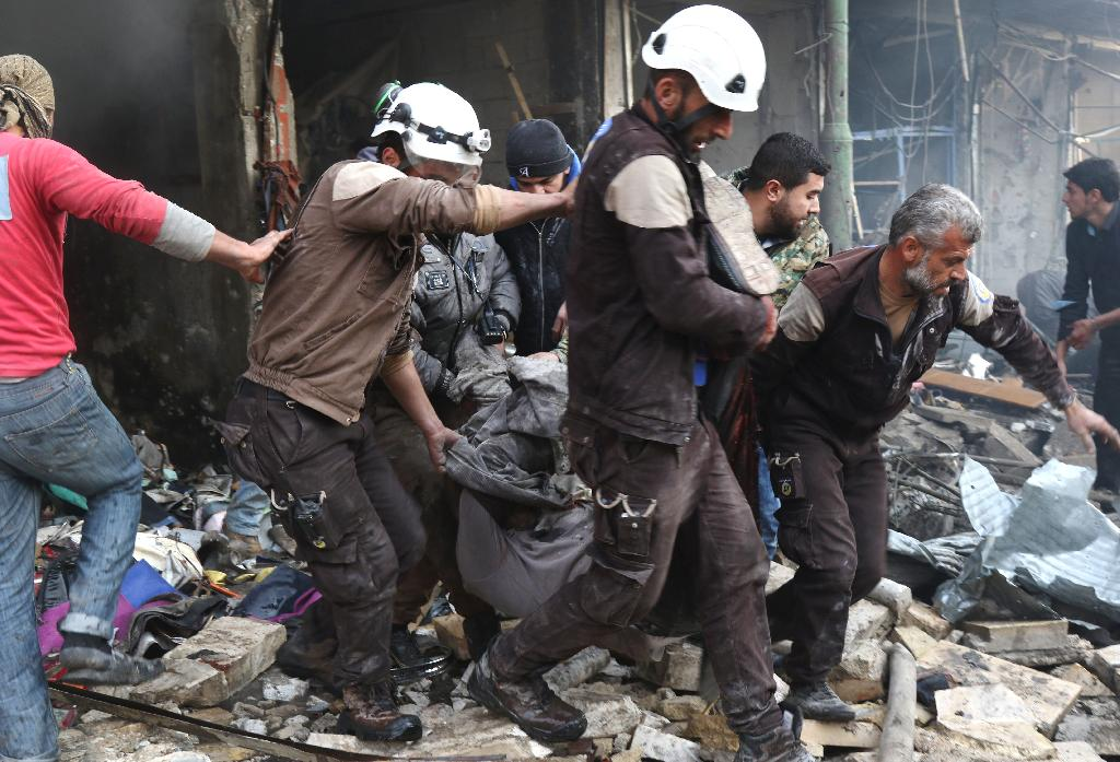 If Syria uses chemical weapons again, National Security Adviser John Bolton promised the U.S. would deliver a counterattack.