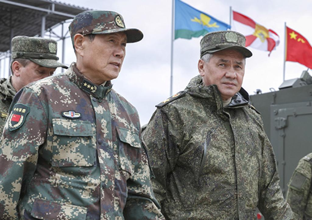 CHITA, Russia (AP) — Russia and China intend to regularly conduct joint war games similar to the massive ones being held this week, the Russian defense minister said Wednesday.