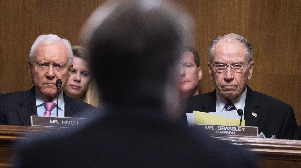 The Senate Judiciary Committee plans to proceed with a vote Friday on Brett