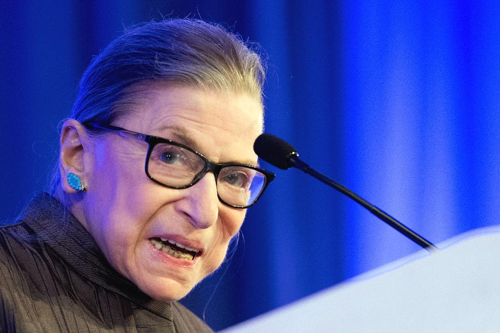 The court's liberal icon voiced her support for the movement on the eve of the Kavanaugh hearing