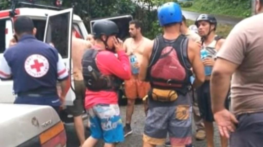 A white-water rafting excursion in Costa Rica turned deadly on Saturday when
