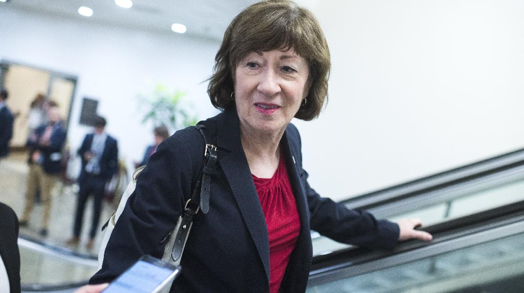 People who expected Sen. Susan Collins, allegedly one of two remaining