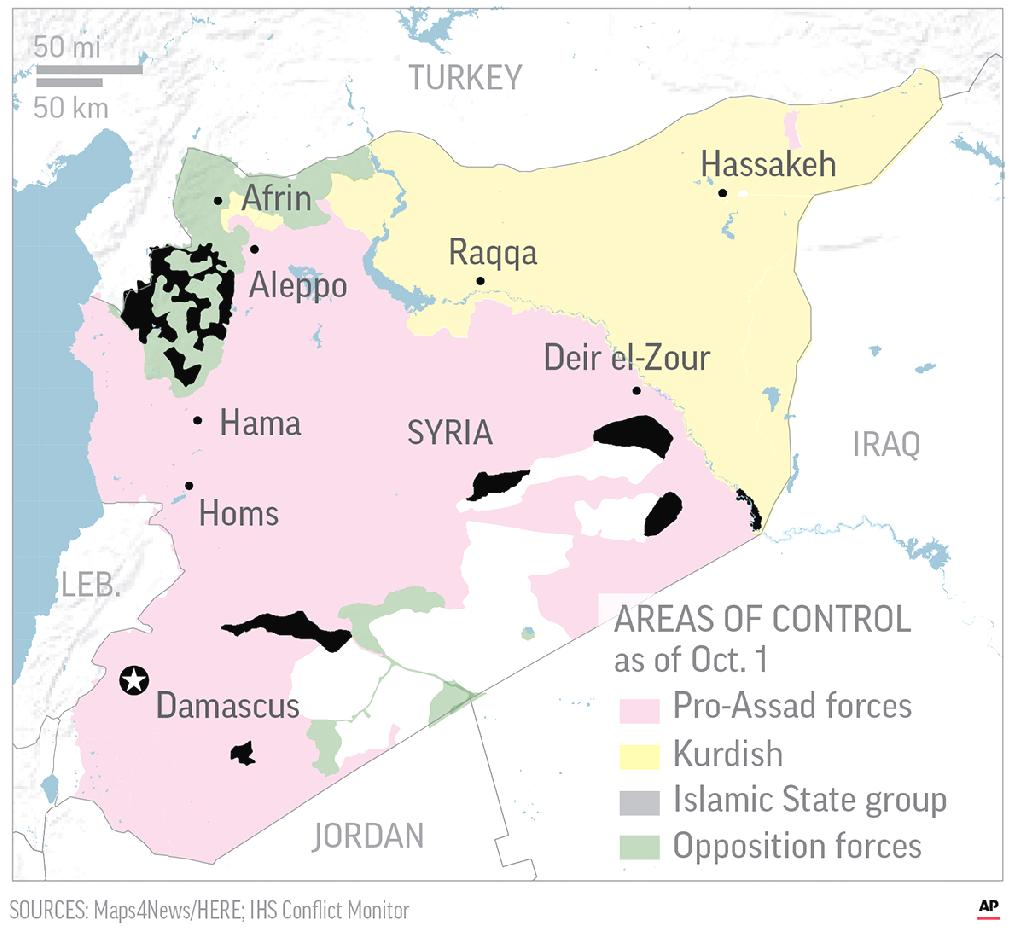 "BEIRUT (AP) — Syrian President Bashar Assad said Sunday that the Russian-Turkish deal to avert a military offensive in the northwestern province of Idlib is a ""temporary one"" that prevented bloodshed but that his government's goal is to restore control over all of Syria."
