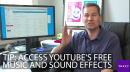 Want to add some cool sound effects or music to your YouTube video (or any video)?
