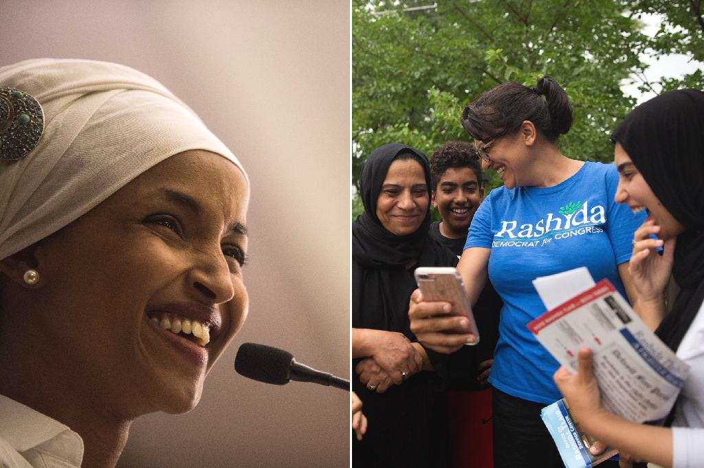 They have become the first two Muslim women elected to Congress in the 2018 midterm elections