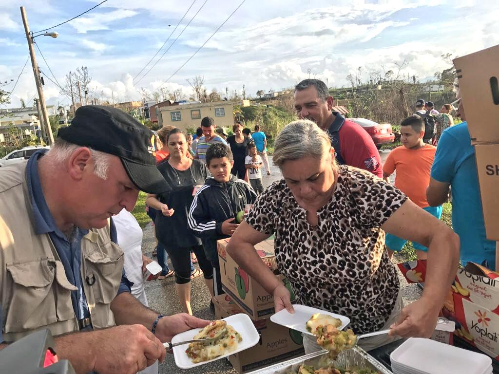 His World Central Kitchen has served meals to millions in need
