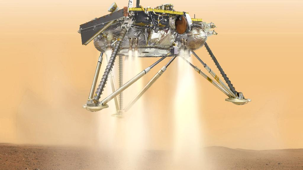 After nearly seven months and more than 300 million miles, NASA's InSight