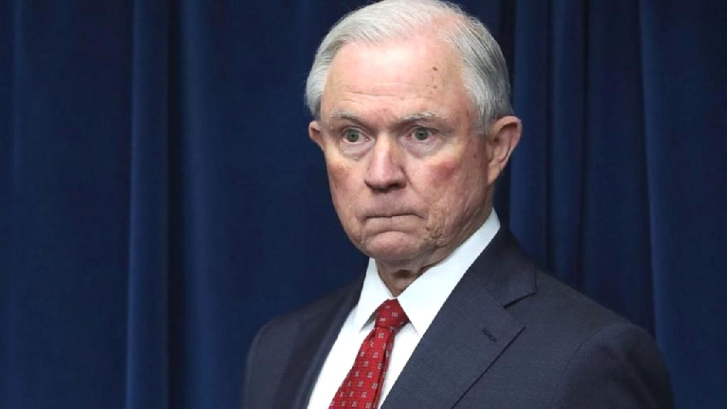Sessions resigned at the request of President Trump.