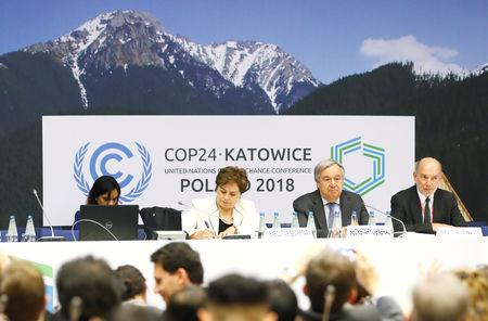 Countries are on a self-imposed deadline to produce a 'rulebook' to flesh out details of the 2015 Paris Agreement, which aims to limit the global temperature rise to less than 2 degrees Celsius and which comes into force in 2020.  Talks in Katowice, Poland, under way since Dec. 2, have been clouded by political divisions.  Before the talks started, many expected that the deal would  fall short of the detailed plan scientists have said is needed to limit global warming to well below a 2 degree-Celsius rise this century.
