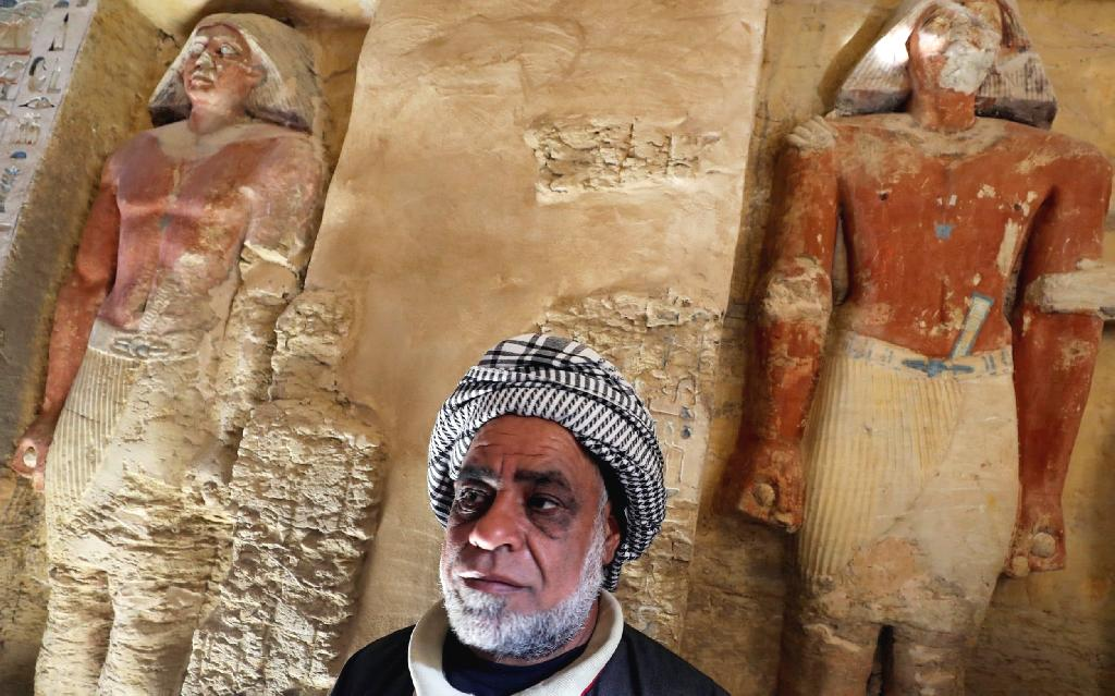 Egyptian archaeologists have discovered the tomb of a priest dating back more than 4,400 years in the pyramid complex of Saqqara south of the capital Cairo, authorities said Saturday.
