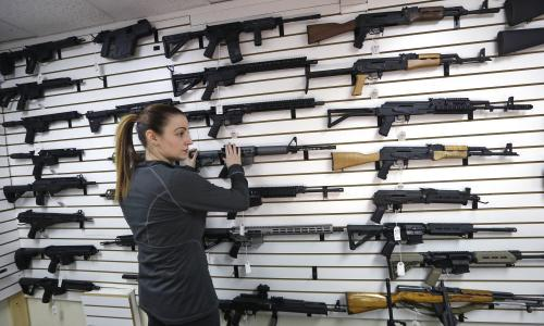 In 2017, 39,773 people in the US were killed by guns, the CDC says.  A steady rise in suicides involving firearms has pushed the rate of gun deaths in the US to its highest rate in more than 20 years, with almost 40,000 people killed in shootings in 2017, according to new figures from the Centers for Disease Control and Prevention.  The CDC's Wonder database shows that in 2017, 39,773 people in the US lost their lives at the point of a gun, marking the onward march of firearm fatalities in a country renowned for its lax approach to gun controls.
