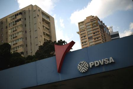 WASHINGTON/CARACAS (Reuters) - The Trump administration on Monday imposed sweeping sanctions on Venezuelan state-owned oil firm PDVSA, aimed at severely curbing the OPEC member's crude exports to the United States and at pressuring socialist President Nicolas Maduro to step down.  Russia, a close ally of Venezuela, denounced the move as illegal interference in Venezuela's affairs and said the curbs meant Venezuela would probably have problems servicing its $3.15 billion sovereign debt to Moscow.  Minutes before the sanctions announcement, Juan Guaido, the opposition leader who proclaimed himself interim president last week with U.S. backing, said congress would name new boards of directors to the company and its U.S. subsidiary, Citgo.