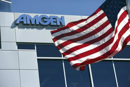 (Reuters) - Amgen Inc on Tuesday reported fourth-quarter profit that easily surpassed expectations as sales rose and tax expense fell, but competition for its older medicines is growing and the drugmaker forecast 2019 earnings below Wall Street estimates.