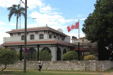 Canadian and U.S. diplomats in Havana first began complaining of dizziness, headaches and nausea in the spring of 2017.  The United States reduced embassy staffing in Cuba from more than 50 to a maximum of 18, after more than two dozen personnel developed unusual illnesses.  'A further reduction in the (Canadian embassy) footprint is deemed to be the appropriate response,' a Canadian government official told reporters.