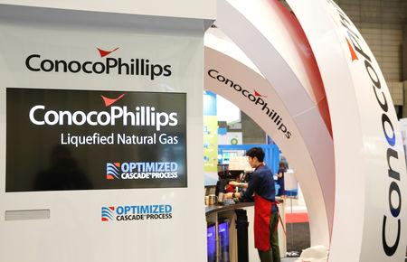 (Reuters) - ConocoPhillips beat quarterly profit estimates on Thursday as the world's largest independent oil producer saw a rise in output from North America's shale fields.