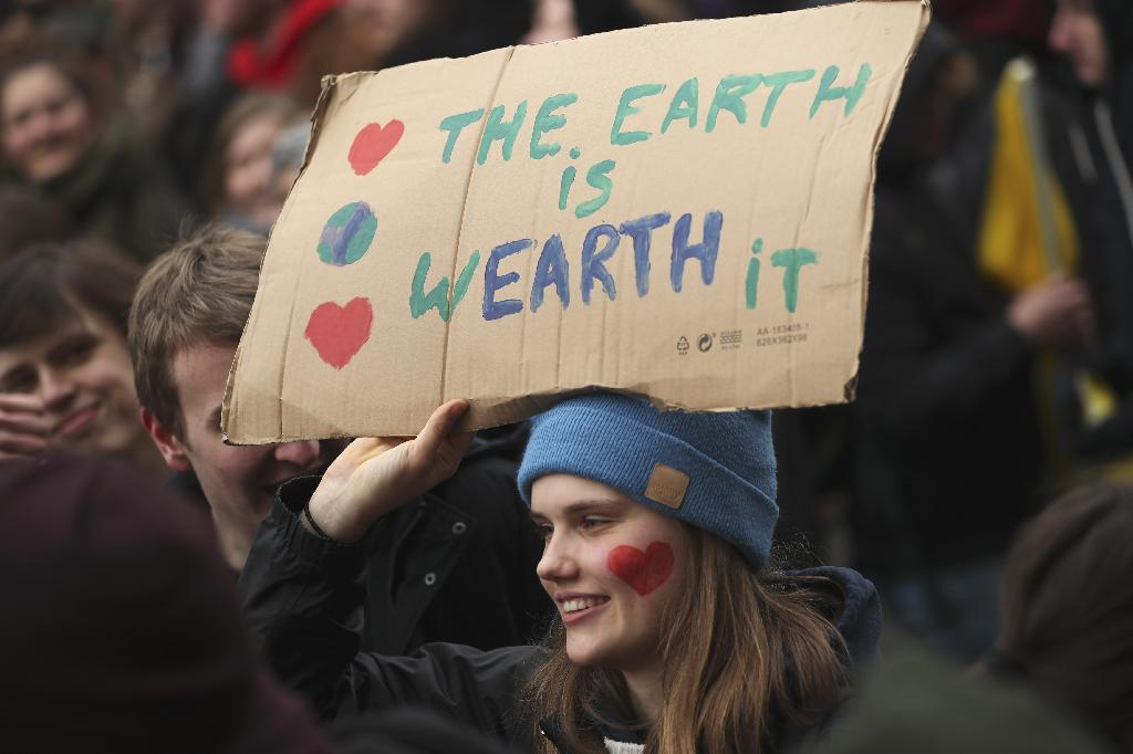 BRUSSELS (AP) — Ten of thousands of teenagers in Belgium skipped school for the fourth week in a row Thursday in an attempt to push authorities into providing better protection for the world's climate.