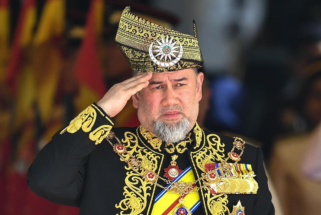 Sultan Muhammad V is stepping down immediately as the 15th King of Malaysia after serving since Dec. 13, 2016, according to a statement from the palace on Sunday which gave no reason for the abdication.  Malaysia's Conference of Rulers will convene on Jan. 24 to choose a successor, who will be inaugurated on Jan. 31, state news agency Bernama reported.  Sultan Muhammad V pardoned Anwar Ibrahim, who is expected to become the nation's next premier.