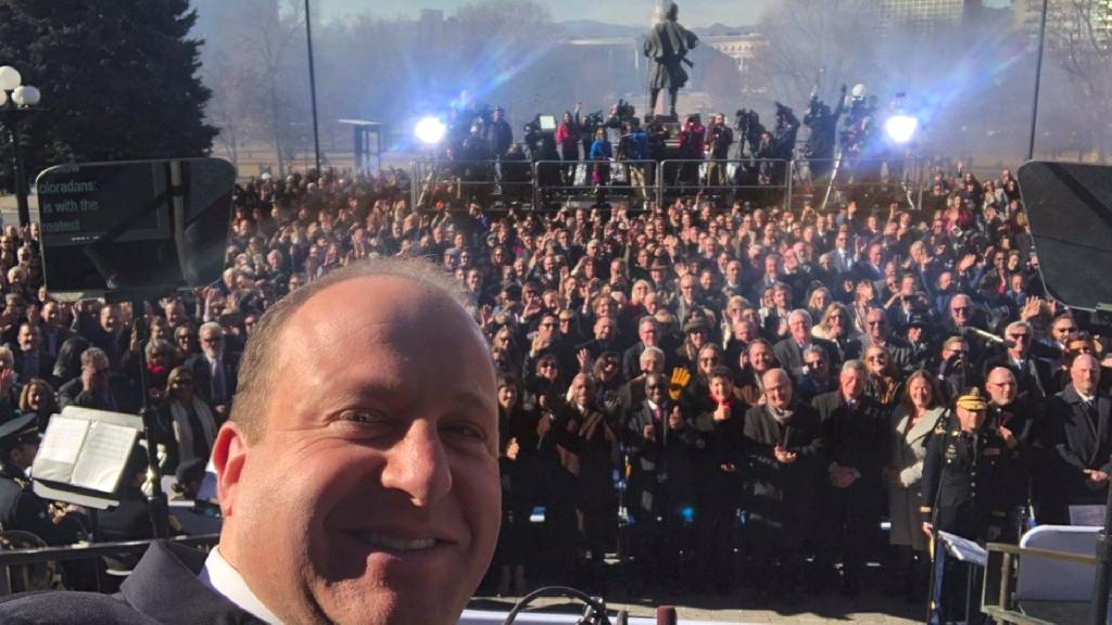 Colorado democrat Jared Polis` inauguration Tuesday marked history as he became the first openly gay U.S. governor.
