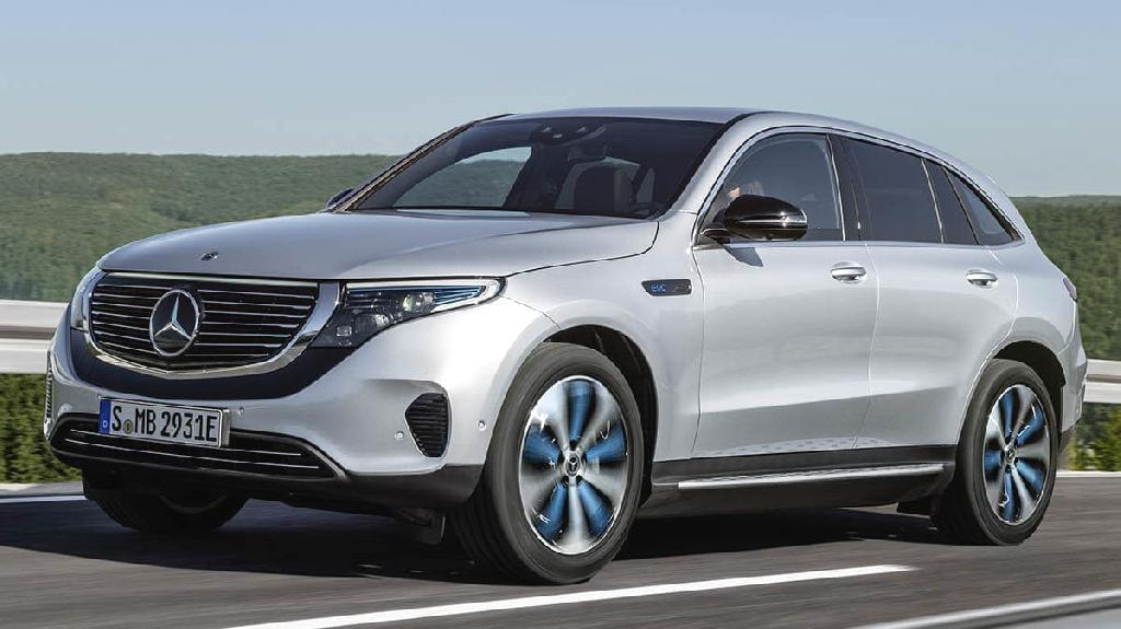 Mercedes-Benz unveiled its new electric-focused EQ sub-brand and showcased its first model, the EQC SUV, at an event in Stockholm in September, 2018 and showcased the EQC this week at the Consume...