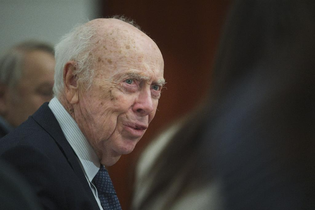 NEW YORK (AP) — James Watson, the Nobel Prize-winning DNA scientist who lost his job in 2007 for expressing racist views, was stripped of several honorary titles Friday by the New York lab he once headed.