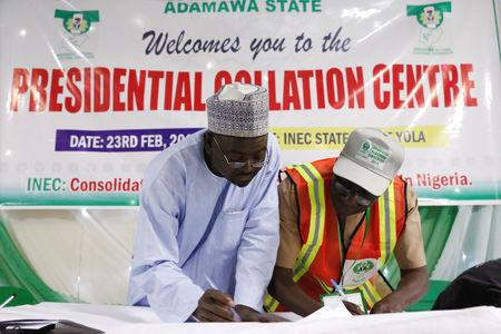 Saturday's election, which U.S. observers said had lost some credibility after being abruptly delayed by a week by officials citing organizational glitches, was expected to be Nigeria's tightest since the end of military rule two decades ago.  Northeast Nigeria has also been wracked a decade-long battle with Islamist militants has spilled into neighboring countries and led to the deployment of a regional task force.  Buhari, 76, is a former military ruler seeking a second term on an anti-corruption platform, while Atiku, 72, a businessman and ex-vice president, has pledged above all to expand the role of the private sector.