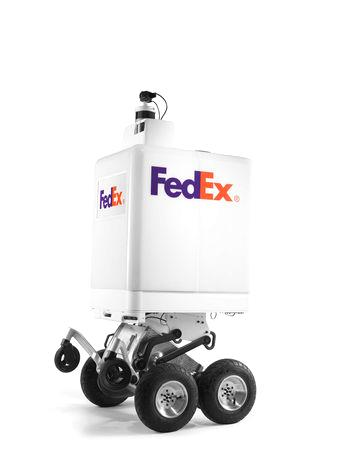 FedEx is teaming up with DEKA Development & Research Corp, whose founder Dean Kamen invented the Segway stand-up scooter and iBot stair-climbing wheelchair, for its project.  The project must win approval in test cities, including the shipper's hometown of Memphis, and the first deliveries will be between FedEx office stores.  FedEx said it is working with its partners, which also include AutoZone Inc and Target Corp, to determine if autonomous delivery to them is a viable option for fast, cheap deliveries.