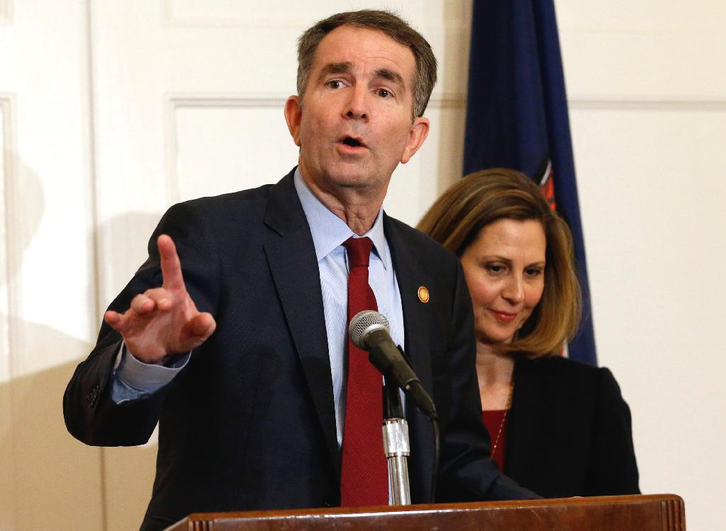 Gov. Ralph Northam vowed to remain in office Sunday while Virginians appeared split on whether the besieged Democrat should resign from office.