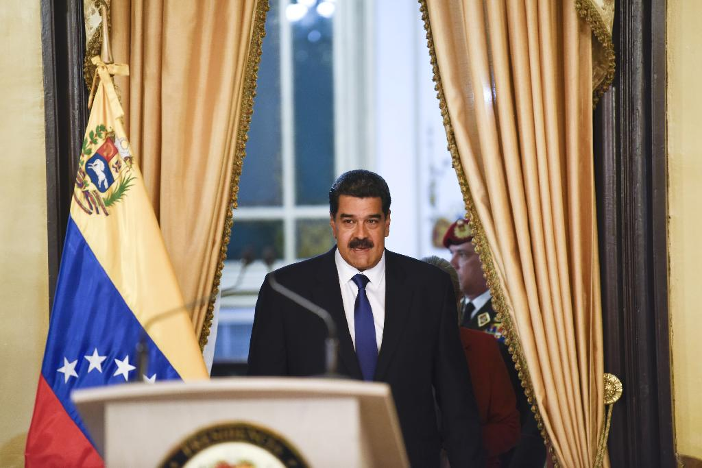 The Venezuelan leader has held on for years in the face of protests, a collapsed economy and international sanctions, via a tight grip on the military and by cracking down on the opposition.  The financial noose is tightening globally, many neighbors and western nations are calling on him to hold elections or step aside, and the opposition has galvanized under Juan Guaido into a more cohesive force.  Maduro has insisted publicly he's going nowhere and a departure could be several steps away, if it happened at all.
