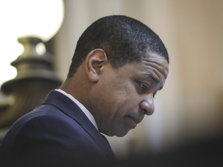 "The lieutenant governor of Virginia has likened himself to a lynching victim while battling accusations of sexual assault and calls to resign from his post amid a series of scandals impacting the state's top lawmakers.  Justin Fairfax made the controversial statements during a surprise speech on Sunday, lashing out against his critics in the state Senate as 2019 legislative session was coming to a close.  ""I've heard much about anti-lynching on the floor of this very Senate, where people were not given any due process whatsoever, and we rue that,"" Mr Fairfax said, referencing legislation the General Assembly passed expressing ""profound regret"" for lynchings in Virginia between 1877 and 1950."