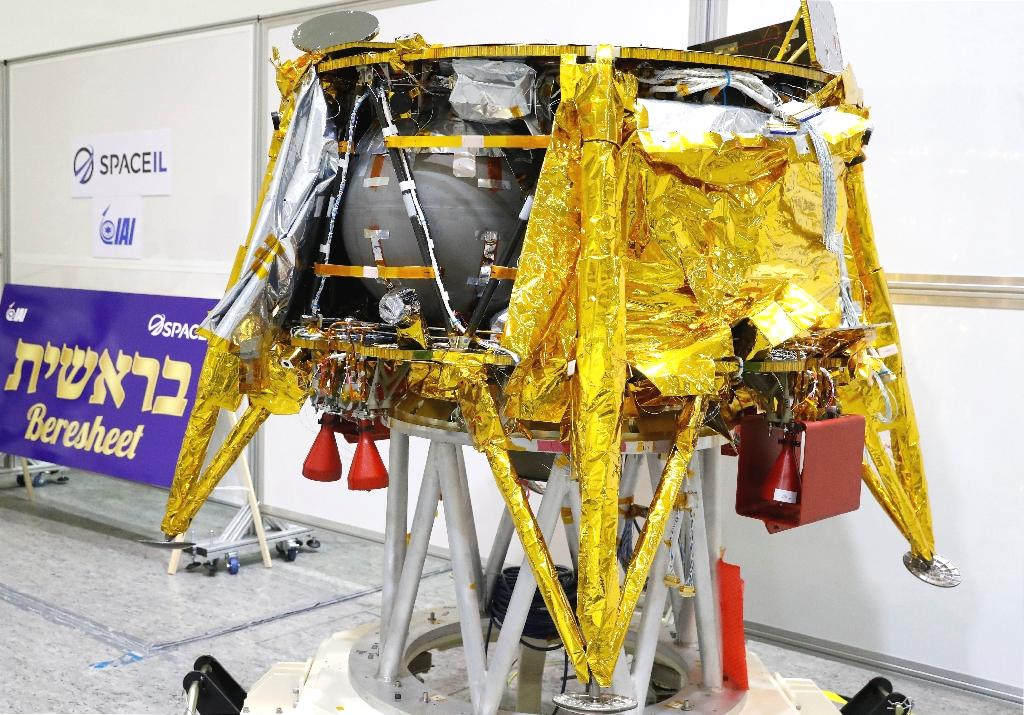 Israel is to launch its first moon mission this week, sending an unmanned spacecraft to collect data to be shared with NASA, organisers said Monday.  The 585-kilogram (1,290-pound) Beresheet (Genesis) spacecraft is to lift off atop a Falcon 9 rocket from Cape Canaveral, Florida at around 0145 GMT on Friday.  Israel Aerospace Industries (IAI) and technology NGO SpaceIL announced the date at a press conference.