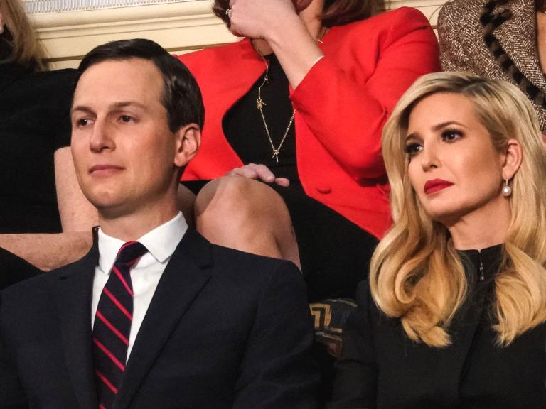 "Donald Trump's daughter, who serves as a senior adviser in the White House, denied on Friday that her father was involved in issuing security clearances for her or her husband, Jared Kushner.  Ivanka Trump made the remarks during an interview with ABC News host Abby Huntsman in an interview for The View.  ""There were anonymous leaks about there being issues,"" Ms Trump said."