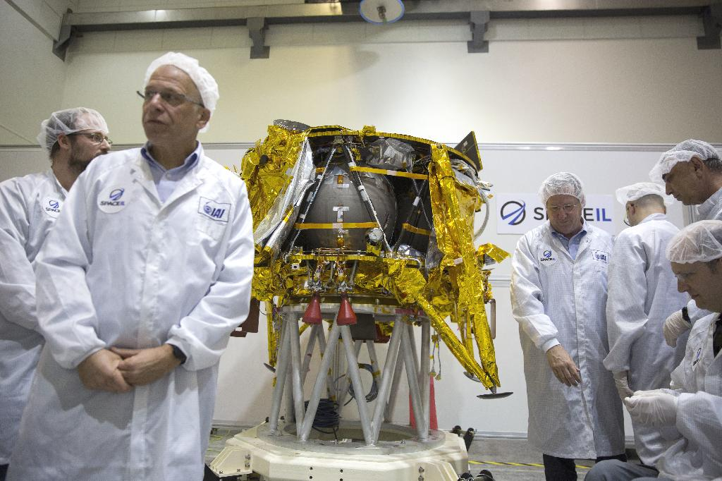 RAMAT GAN, Israel (AP) — A nonprofit Israeli consortium said Monday that it hopes to make history this week by launching the first private aircraft to land on the moon.
