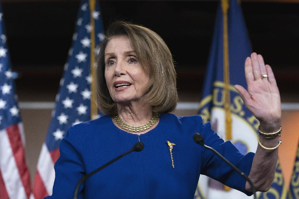 WASHINGTON (AP) — Republicans have vilified Nancy Pelosi for years as a San Francisco liberal and now they're trying to portray her as a captive of resurgent left-wingers in her Democratic Party.