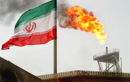 The United States aims to cut Iran's crude exports by about 20 percent to below 1 million barrels per day (bpd) from May by requiring importing countries to reduce purchases to avoid U.S. sanctions, two sources familiar with the matter told Reuters.  U.S. President Donald Trump eventually aims to halt Iranian oil exports and thereby choke off Tehran's main source of revenue.  Washington is pressuring Iran to curtail its nuclear program and stop backing militant proxies across the Middle East.