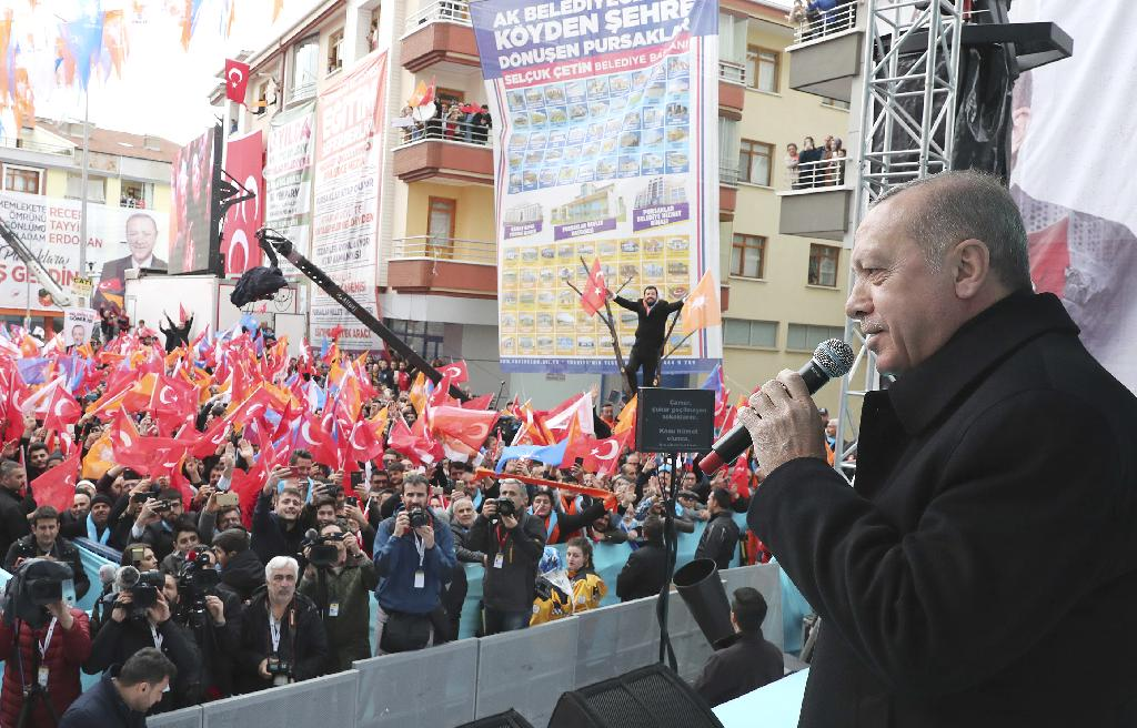 """ANKARA, Turkey (AP) — The latest quarrel between the leaders of Turkey and Israel continued for a second day Wednesday as Turkish President Recep Tayyip Erdogan labeled Israeli Prime Minister Benjamin Netanyahu a """"thief"""" and a """"tyrant."""""""