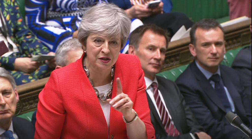 U.K. lawmakers voted down May's deal with the European Union for a second time in just two months, with just 17 days to go before Brexit.