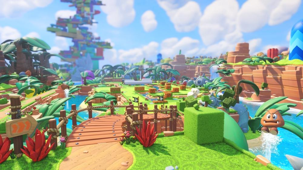 """Mario + Rabbids Kingdom Battle"" offers a ridiculous strategy experience with surprising depth and a pinch of toilet humor."
