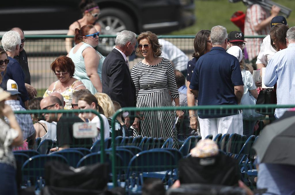 LITTLETON, Colo. (AP) — The Latest on events commemorating the 20th anniversary of the Columbine school shooting (all times local):