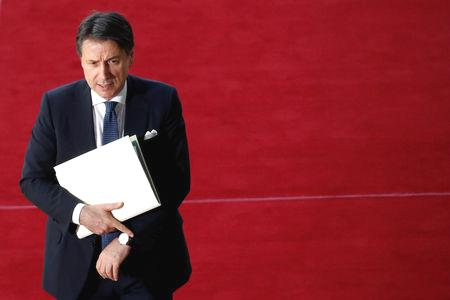 Italy's prime minister has said any foreign military intervention in Libya would not resolve the latest conflict in its former colony, warning that it might trigger a refugee exodus across the Mediterranean.  Eastern-based Libyan forces led by Khalifa Haftar are advancing in a push to seize the capital, Tripoli, but troops loyal to Prime Minister Fayez al-Serraj's internationally recognized government have so far kept them at bay.  'A military option cannot be a solution,' Italian Prime Minister Giuseppe Conte told daily Il Fatto Quotidiano newspaper in an interview published on Saturday.