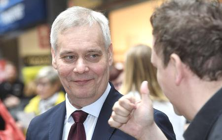 A survey commissioned by public broadcaster Yle showed the Social Democrats could win the top spot with 19 percent of the vote, giving their leader, Antti Rinne, the first shot at forming a government.  The Finns are running close second with 16.3 percent support, after scoring rapid gains since the start of this year when a series of cases of sexual abuse of minors by foreign men emerged.  A strong result for the Finns Party could bolster a nationalist bloc threatening to shake up EU policy-making.