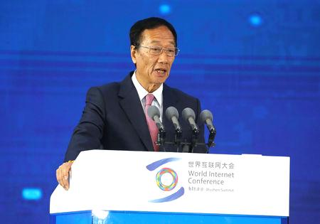 The chairman of Taiwan's Foxconn, assembler of Apple's iPhones, said on Monday he plans to step down in the coming months as he wants to pave the way for younger talent to move up the ranks of the world's largest contract manufacturer.  Terry Gou, speaking on the sidelines of an event in Taipei, said that while he planned to resign as chairman, he hoped to remain involved in strategic decisions regarding the company's business.  When asked by Reuters if he would quit as chairman, Gou said he was moving in that direction, although any decision needed to be discussed with the company's board.