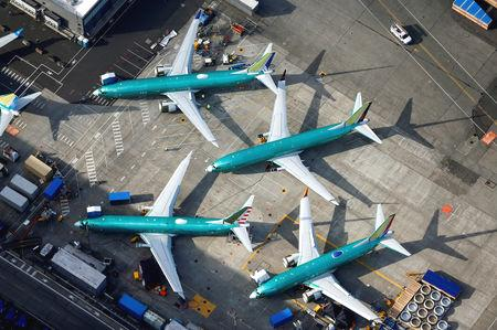 U.S. President Donald Trump on Monday urged Boeing Co to fix and 'rebrand' its 737 MAX jetliner following two fatal crashes, as regulators worldwide continue to work with the planemaker to review its grounded best-selling aircraft.  The Federal Aviation Administration has been meeting major airlines and convened a joint review with aviation regulators from other countries, while federal prosecutors, the U.S. Department of Transportation inspector general's office and a blue-ribbon panel are reviewing the plane's certification.  In an early-morning post on Twitter, Trump, who owned the Trump Shuttle airline from 1989 to 1992 and is an aviation enthusiast, weighed in with his own advice.