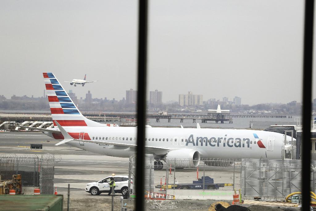 NEW YORK (AP) — American Airlines announced Sunday that it was canceling 115 flights per day through mid-August because of ongoing problems with the Boeing 737 Max aircraft.