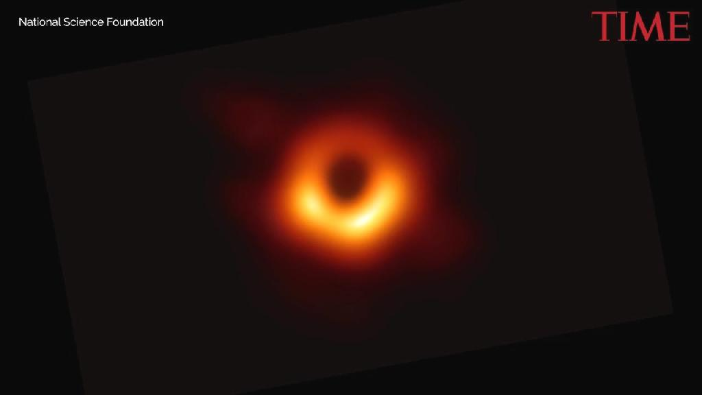 A picture of a black hole is one of those great, self-negating concepts, like the sound of silence, the presence of absence or the lives of the dead.