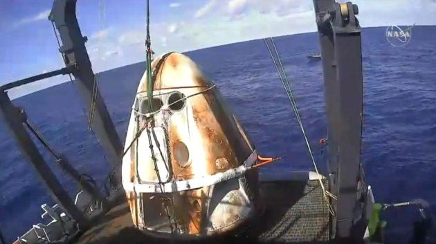 SpaceX suffered a setback in preparations for its first crewed launch to the International Space Station today when one of its Crew Dragon spacecraft experienced an anomaly during an engine test firing in Florida. No injuries were reported, but the anomaly threw up a huge pillar of smoke from SpaceX's Landing Zone 1 during testing of the Dragon's Super Draco thrusters. The static-fire test was being conducted in preparation for an in-flight abort test. The in-flight abort test is meant to demonstrate the Crew Dragon's system for rocketing the crew to a safe landing in the event of an emergency… Read More